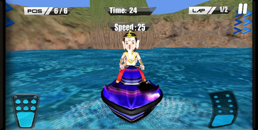 Ganesh SpeedBoat Race