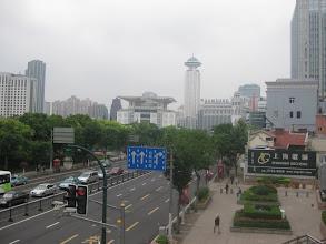 Photo: Widok z przejścia nad ulicą