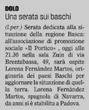 Photo: Il Gazzettino di Venezia (03.02.2015)