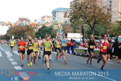 Media Maratón de Valencia 2015