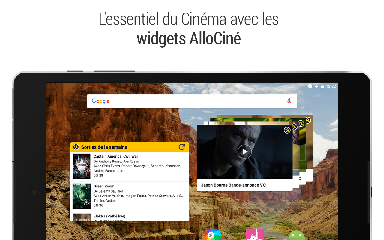 AlloCine – Capture d'écran