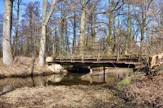 Photo: 53,3 km mostek na lewej odnodze