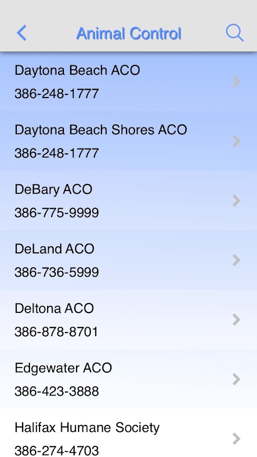 Volusia Co Lost & Found Pets- screenshot