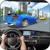 City GT Car Racer in Traffic