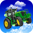 Flying Tractor Ride Simulator icon