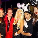 halloween time with the bunny girls at INHOUSE, Taipei in Taipei, T'ai-pei county, Taiwan