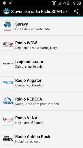 RadioSCAN.sk Slovak radios