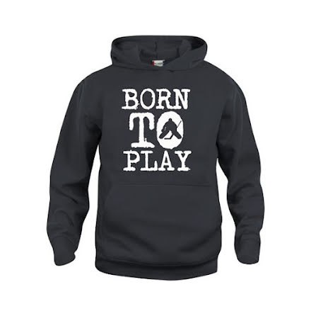 Hoodie - Born to play - Målvakt
