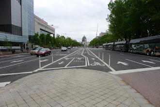 Photo: Penn Ave w/3 bike lanes!