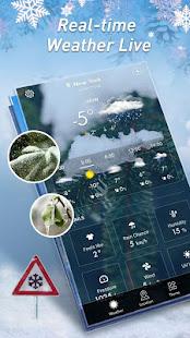 Místní počasí - Widget počasí - náhled