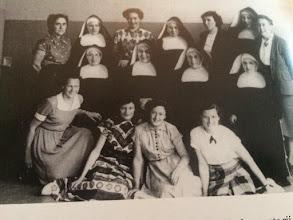 Photo: 1960 Het team van de Mariaschool