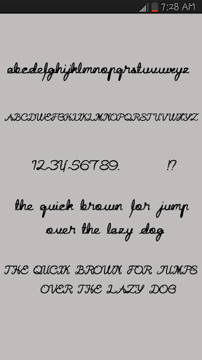 Pen Writing Fonts