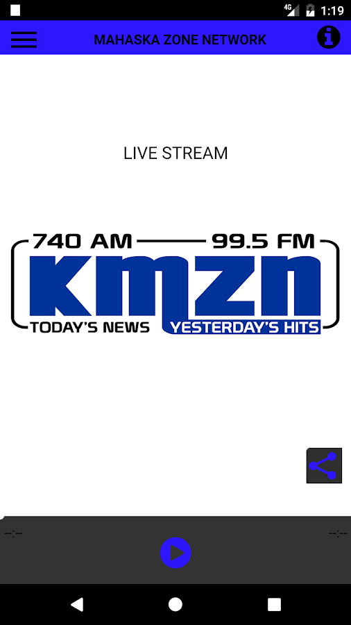 KMZN Radio- screenshot