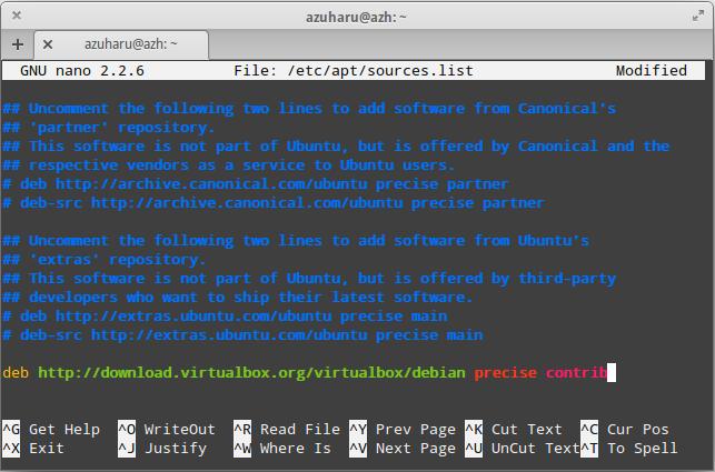 install virtualbox versi terbaru pada elementary os