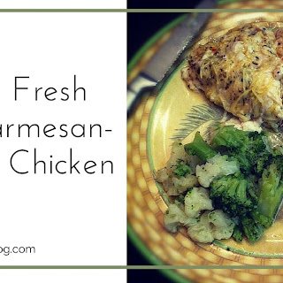 Baked Fresh Herb Parmesan-Crusted Chicken