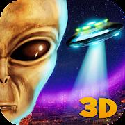 Alien UFO Simulator 3D