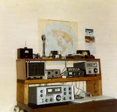 Photo: WB9OTX's Novice Station ( WN9GOA )
