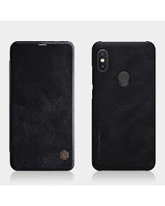 Nillkin QIN Smartcase in genuine Leather for Xiaomi Redmi Note 6 Pro