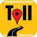 Trip & Toll Calculator - car truck Free | Tollguru icon