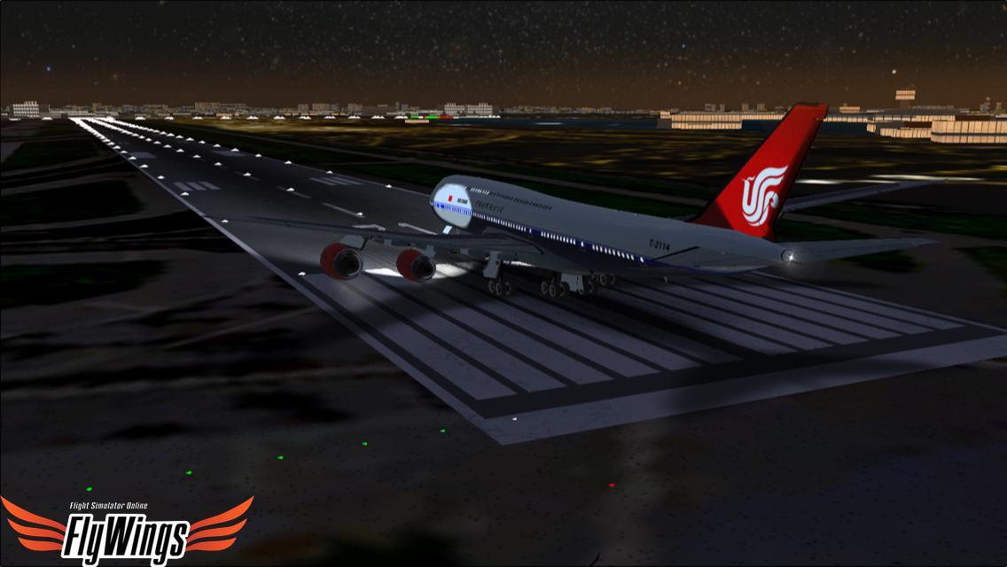 Flight Simulator Night Ny Free Android Apps On Google Play