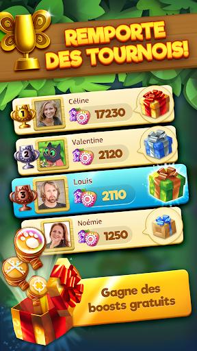 Code Triche Tropicats: Un Jeu de Chat Gratuit Match 3 Puzzle APK MOD screenshots 4