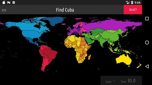 Blank Map Quiz screenshots 4
