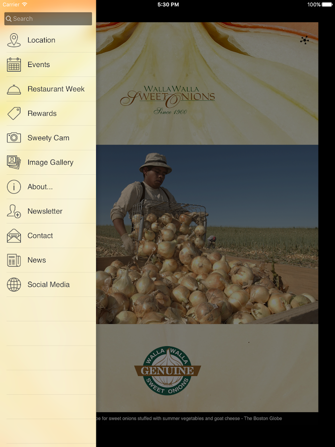 Walla Walla Sweet Onion- screenshot