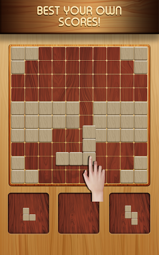 Block Puzzle Wood 1010: Classic Free puzzledom  screenshots 3
