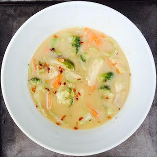 Thai Peanut Soup.