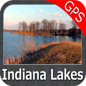 Indiana Lakes GPS Map Navigator