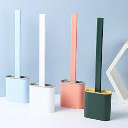 Perie din silicon pentru toaleta
