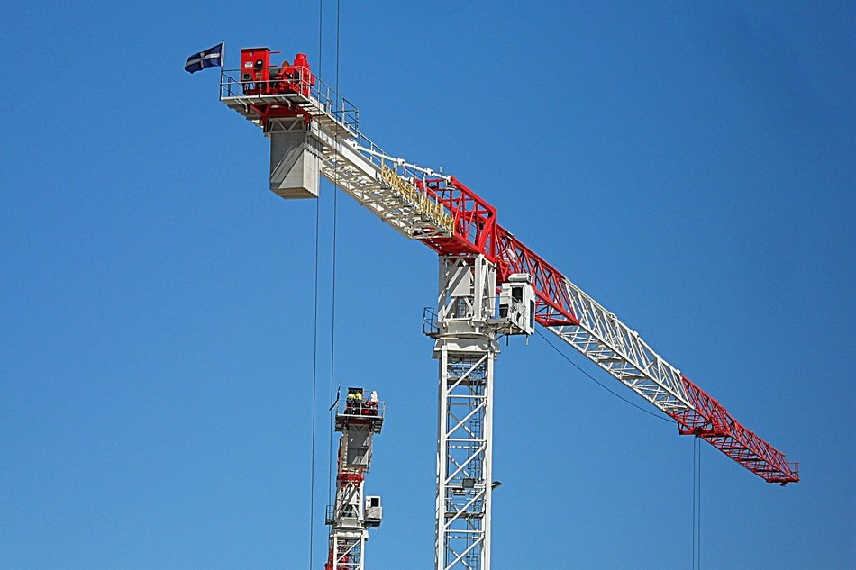 construction crane singapore