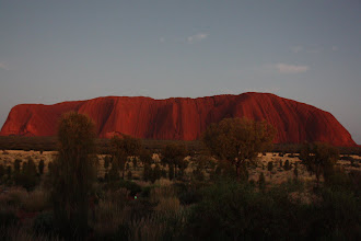 Photo: Year 2 Day 219 - Uluru at 6.15am