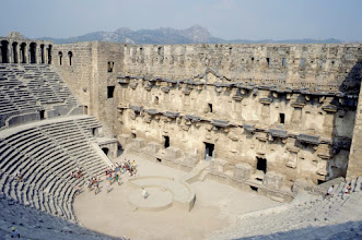 Photo: 001-Aspendos, le site antique