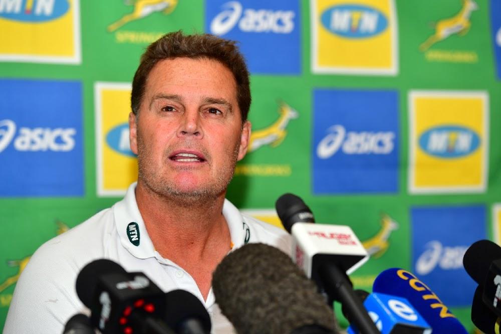 Rassie sal nie op die Bok-vertoning tydens die Wêreldbeker-toernooi beoordeel word nie, sê SA Rugby-baas