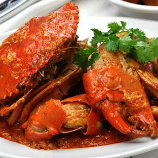 Singapore Chilli Crab.