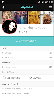Stylisted – Hair and Makeup- screenshot thumbnail