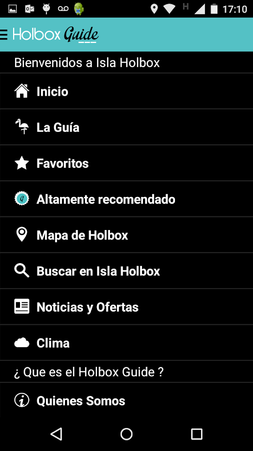 Holbox Guide- screenshot