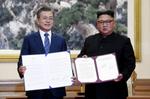 兩韓簽共同宣言 承諾建設朝鮮半島成無核家園