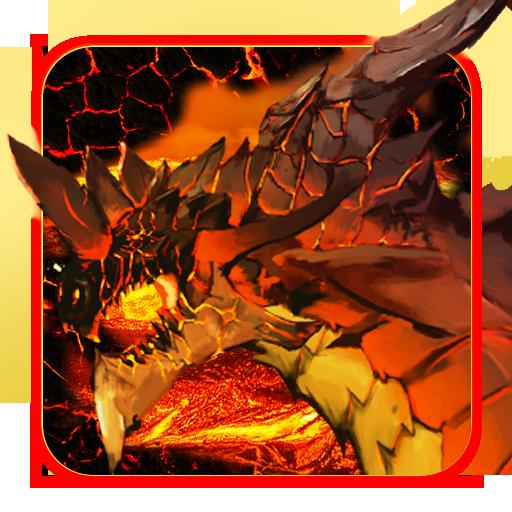 Dragon And Flame Magma Keyboard Theme