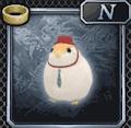 文鳥のブンちゃん(白)