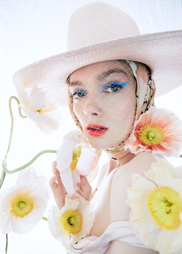 Beauty editorial featuring makeup products from YSL, Sephora and Dior Backstage.