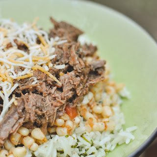 Chipotle's Inspired Crock Pot Barbacoa Beef