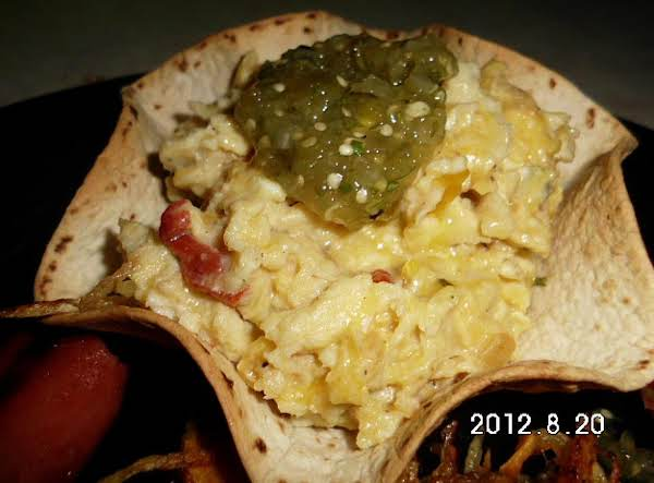 Scrambled Egg Breakfast To Go-low Sodium Opt Recipe