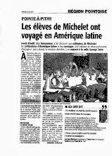 Photo: Sensemaya en Guadeloupe : Collège Michelet Concert organisé par l'équipe d'espagnol : Laurence Carlton et Adeline Le Bouffo (Pointe à Pitre)