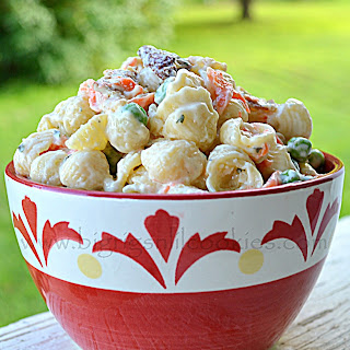 Bacon Ranch Pasta Salad.