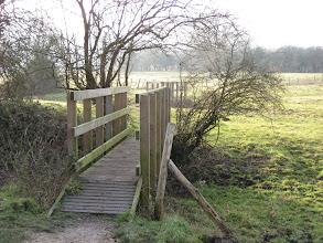 Photo: The bridge over the Nailbourne December 2007