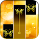 Gold Glitter ButterFly Piano Tiles 2018