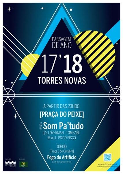 Reveillon 2017-2018 em Torres Novas