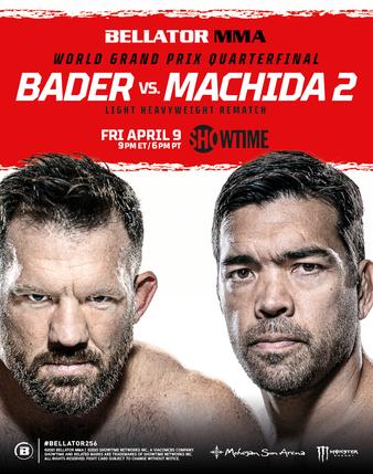 Bellator 256: Ryan Bader vs. Lyoto Machida 2 Promo Poster